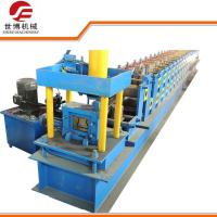 China Upright Pillar Rack Steel Roof Roll Forming Machine For Factory Roof / Warehouse on sale