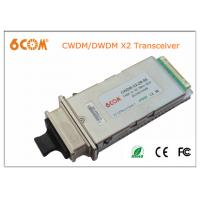 Wholesale Single mode CWDM 10gbase X2 module 40KM 1610nm transceiver module for Network from china suppliers