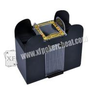 Buy cheap Plastic 6 Deck Automatic Card Shuffler With One Camera For Baccarat Cheating from Wholesalers