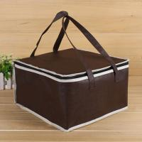 Wholesale OEM Soft Insulated Cooler Bag 4 Size Brown Insulated Bag Stock Available from china suppliers
