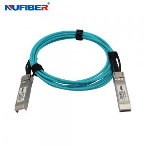 Wholesale Huawei Compatible Copper 10G SFP+ To SFP+ AOC Cable from china suppliers