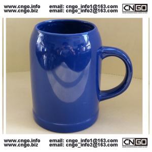 Wholesale wholesale glass beer mug ceramic beer cup custom LOGO 500ML beer mug from china suppliers