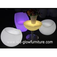 Led illuminated furniture tables chairs for bar cafes and party