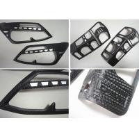 Wholesale 3D Carbon Fiber Head Lamp and Tail Lamp Bezels For ISUZU D-MAX 2012 2014 from china suppliers