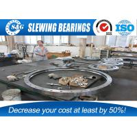 Wholesale Hitachi Excavator Swing Bearing , Lazy Susan Bearing Ring With Gear Teeth Quenching from china suppliers