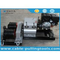 Buy cheap 50KN Double Drum Fast Speed Winch Cable Pulling and Laying with Gasoline Engine from Wholesalers
