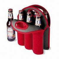 Wholesale Neoprene Can/Beer Bottle Cooler with Logo Printings, Measures 32 x 38 x 0.3cm from china suppliers
