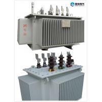 High Efficiency , Oil Immersed Power Transformer , 6.6 KV - 315 KVA