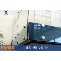 Wholesale building framless glass railings with stainless steel standoff bracket from china suppliers
