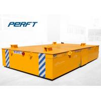 Wholesale battery drive platform transfer van cargo transfer carts run on factory floor from china suppliers