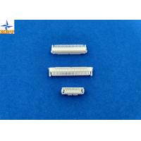 Mm pitch wire to board crimp style connectors shld