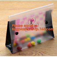 Wholesale Office school filing supplies A4 plastic portable document file bag /envelope pocket file folder with button from china suppliers