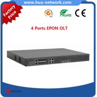 Buy cheap 4 GEPON OLT/4 PON OLT EPON/4 GEPON OLT/ Cortina chipset EPON OLT/Compatible with many ONUs from Wholesalers