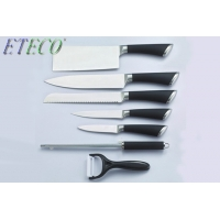 Wholesale High Grade 8 PCS 3Cr13Mov Stainless steel Hollow Handle Kitchen Knife Set from china suppliers