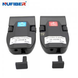 Wholesale 1core LC 2km Dvi Fiber Extender , Mini Dvi Fiber Optical Transceiver from china suppliers