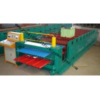 China Corrugated Roof Panel Roll Forming Machine Wave Galvanized Roof Sheet Cold Roll Former on sale