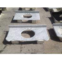 China Kitchen / Bathroom Marble Stone Countertops 96′′ X 26′′ / Custom Size on sale