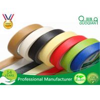 Wholesale Decorative Low Tack Masking Tape , Blue Painters Masking Tape Rubber Adhesive from china suppliers