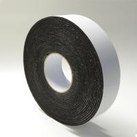 Wholesale Black Rubber Die Cut Adhesive Tape Backed Foam For Heat / Sound Insulation from china suppliers