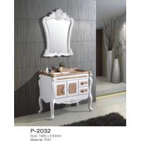 China White Marble Top Bathroom Vanity With Drawers European Modern Fashion on sale