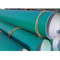 China FBE Epoxy Coal Tar Wrap Glass Fiber Cloth SSAW Steel Pipe For Water Project on sale