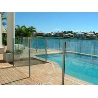 Buy cheap 8mm Flat Tempered Glass Pool Fencing , Splashback Glass Handrails from Wholesalers
