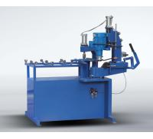 Glass corner grinding machine