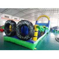 Buy cheap Amusement Park Use Inflatable Circus, Inflatable Obstacle Challenges Game from wholesalers