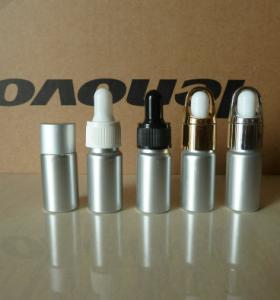 Wholesale 10ml aluminium essential oil dropper bottle, 10ml essence packing aluminium bottle from china suppliers