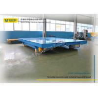 Automated Battery Transfer Cart Large Load Capacity High Efficiency Rail Carriage