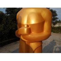 Buy cheap Event party decoration large Oscar statue/sculpture with existing mold for sale from wholesalers