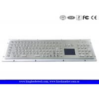 Wholesale IP65 Rated Rugged Panel Mount Metal Keyboard With Numeric Keypad In Special Design from china suppliers