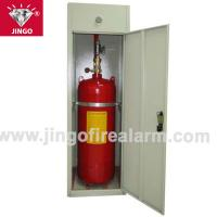 China Fire gas extinguisher cabinet FM200 extinguishing systems 120kg on sale