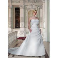 Wholesale Plus Size Strapless Wedding Dress from china suppliers