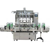 Buy cheap Liquid Beverage Filling Equipment Labeling Machine For Fruit Juice Filling from wholesalers