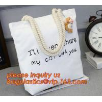 Wholesale natural canvas cotton boat bag, cheap tote printed canvas bags,Washable canvas bag custom print canvas bag blank bagease from china suppliers