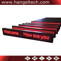 China 16x160 Outdoor LED Moving Message Display Scrolling Display Sign Banner on sale