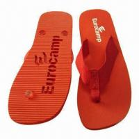 Wholesale Hollow Carved EVA Promotional Slippers, Any Color Available from china suppliers