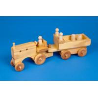 Wholesale DIY Natural Color Wooden Concrete Truck Toy from china suppliers