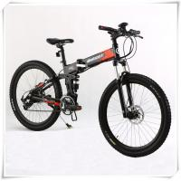 Wholesale 36V Folding Electric Bike 25 Km / H Max Speed Folding Electric Mountain Bike from china suppliers