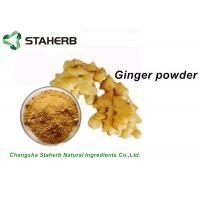 Wholesale Dehydrated Pure Ginger Extract Powder / Root Powder Food Health Product from china suppliers