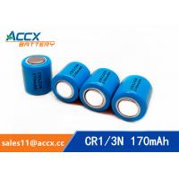 Wholesale CR1/3N 3.0V 170mAh limno2 battery manufacturer from china suppliers