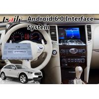 Wholesale Android 6.0 Car GPS Navigation for 2008-2013 Year Infiniti FX35 / FX37 , Video Interface from china suppliers