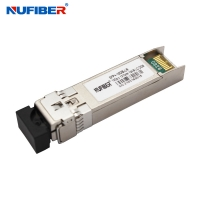 Wholesale 10km 1310nm 10G SFP+ Transceiver , LC DDM Optical Transceiver Module from china suppliers
