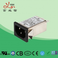 Wholesale Yanbixin Embedded Emi Rfi Power Line Filter 10A 120V 250V Long Working Lifespan from china suppliers