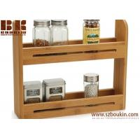 Wholesale Kitchen Wooden Spice Organizers Caddy Box wood spice box Eco-Friendly from china suppliers