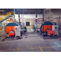 Wholesale Wet Back Fire Tube Packaged Gas Steam Boiler 3.6kw For Hospital / School from china suppliers