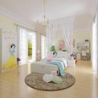 Wholesale E0 Grade Kids' Bedroom Furniture, Children's Furniture, Home Product, Desk, Chair, Disney, Princess from china suppliers