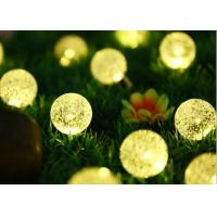 Wholesale 6M 30LED bulbs solar panel power ball LED string lights fairy light for christmas halloween party wedding decoration from china suppliers