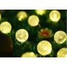 Buy cheap 6M 30LED bulbs solar panel power ball LED string lights fairy light for from wholesalers